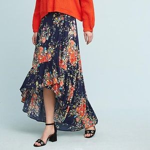 Anthropologie Rae Maxi Skirt